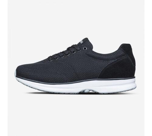 Svært Gaitline sko- sort/hvid - Hanne's Fodklinik I/S LS-21