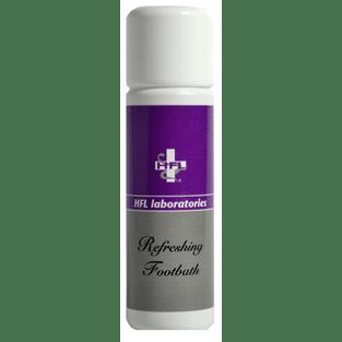 Refreshing footbath, hfl, cremer og plejemidler